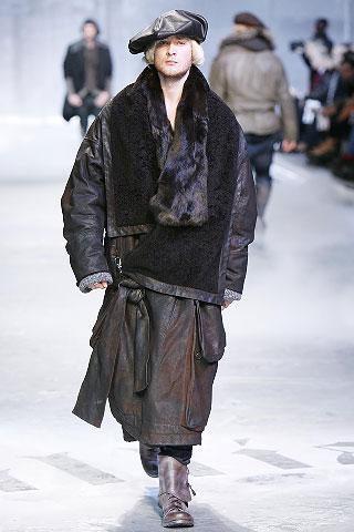 John Galliano2008秋冬男装周