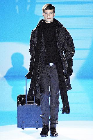 Salvatore Ferragamo2008米兰秋冬男装周