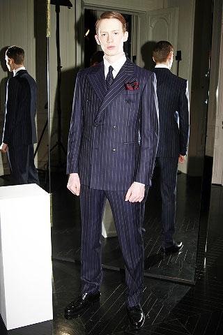 Valentino2008巴黎秋冬男装周