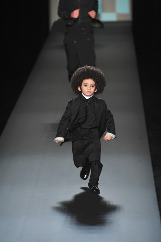 Jean Paul Gaultier2009巴黎秋冬男装周