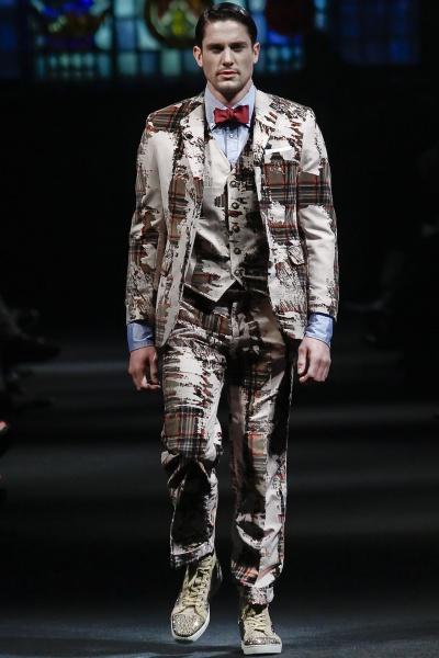 Marlon Gobel2011纽约秋冬男装周