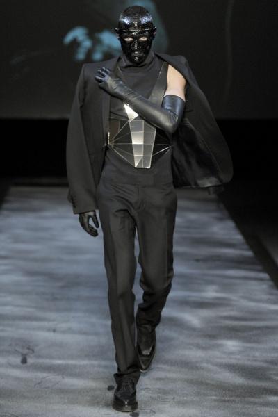 Thierry Mugler2011秋冬男装周