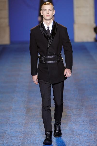 Versace 2011米兰秋冬男装周