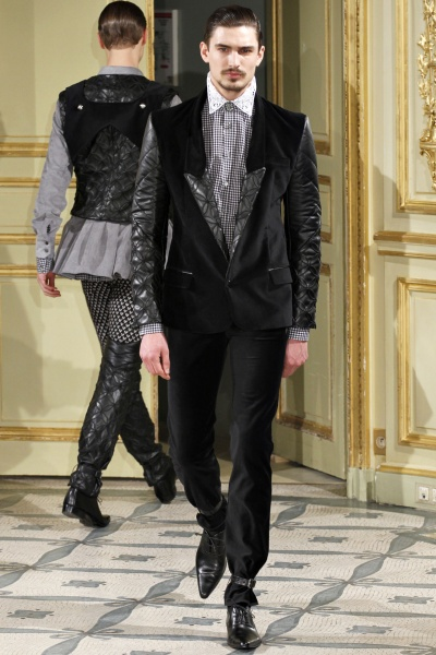 Alexis Mabille2012秋冬男装周