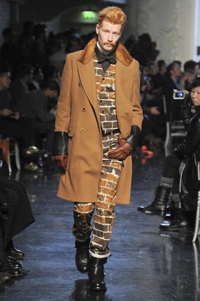 Jean Paul Gaultier2012巴黎秋冬男装周