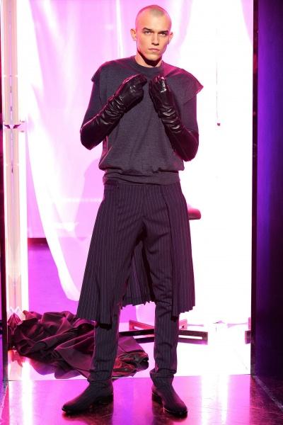 Jean Paul Gaultier2013巴黎秋冬男装周