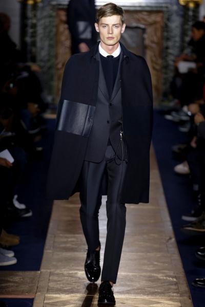 Valentino2013巴黎秋冬男装周
