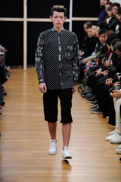Comme des Garçons Shirt2014巴黎秋冬男装周