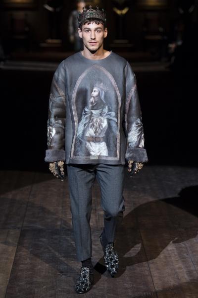 Dolce & Gabbana2014米兰秋冬男装周