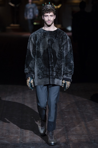 Dolce & Gabbana2014秋冬男装周