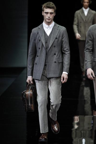 Giorgio Armani2014米兰秋冬男装周