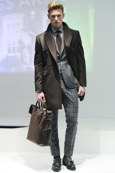 Hardy Amies2014伦敦秋冬男装周