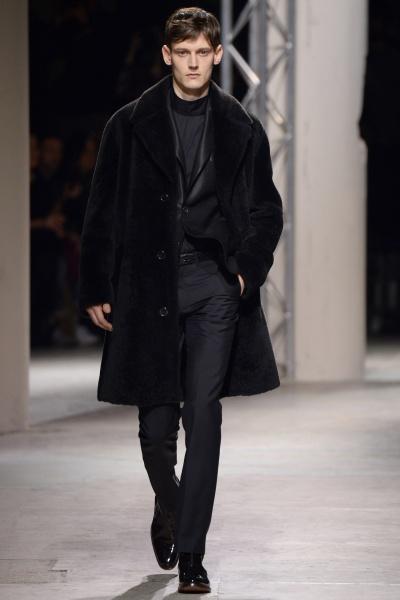 Hermès2014巴黎秋冬男装周