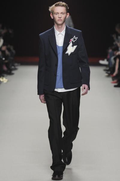 Kris Van Assche2014巴黎秋冬男装周