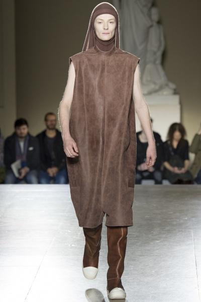 Rick Owens2014巴黎秋冬男装周