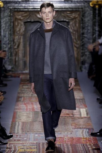 Valentino2014巴黎秋冬男装周