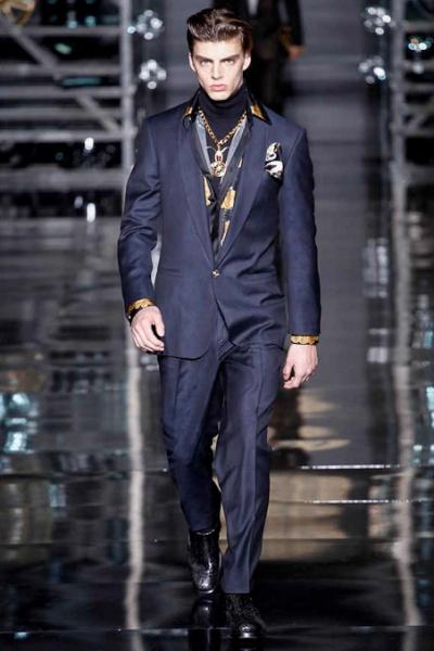Versace2014米兰秋冬男装周