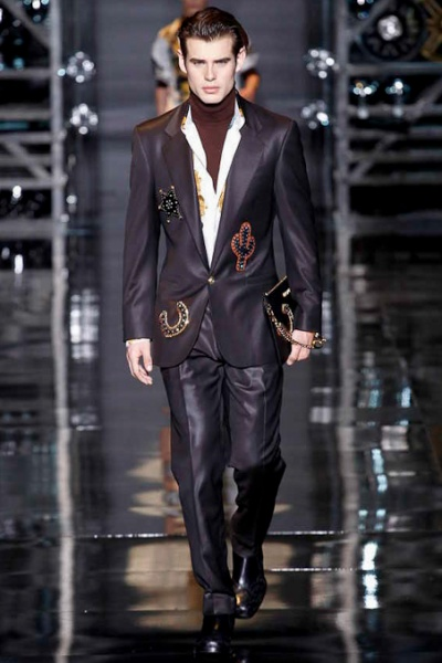 Versace2014秋冬男装周