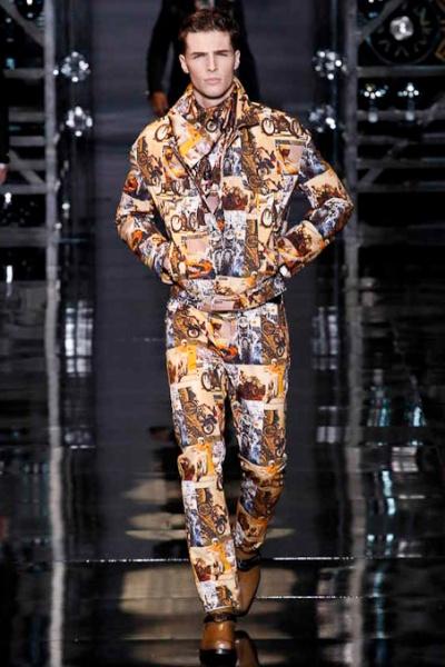 2014流行语录_Versace2014秋冬男装发布秀__Versace[范思哲]男装周_男装秀场-GQ男士网
