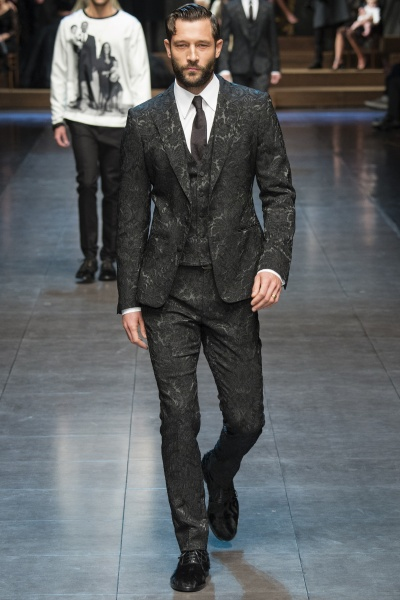 Dolce & Gabbana2015秋冬男装周