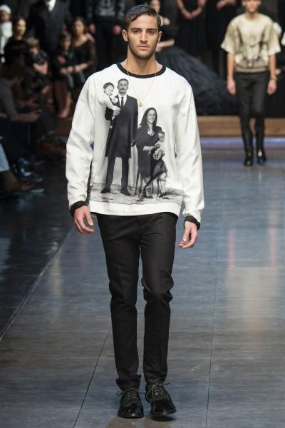 Dolce & Gabbana2015米兰秋冬男装周