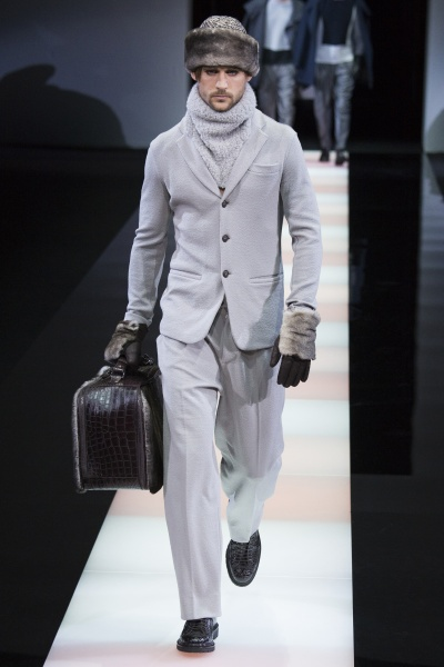 Giorgio Armani2015秋冬男装周