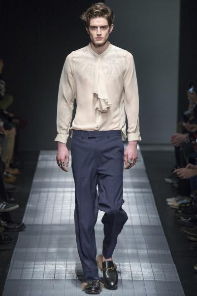 Gucci2015秋冬男装周
