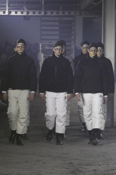 Moncler Gamme Bleu2015秋冬男装周