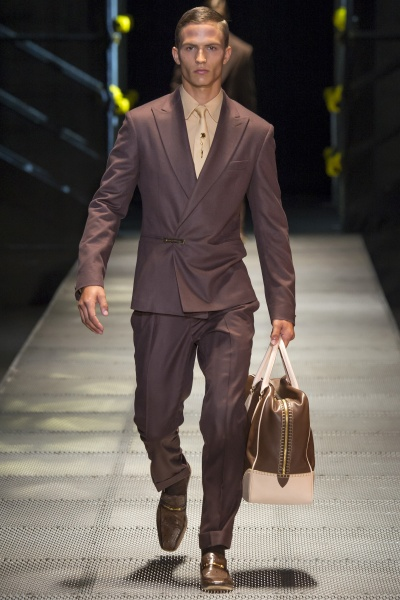 Versace2015米兰秋冬男装周