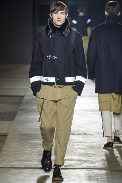 Dries Van Noten2015秋冬男装周