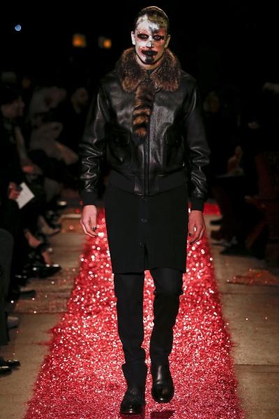 Givenchy2015秋冬男装周