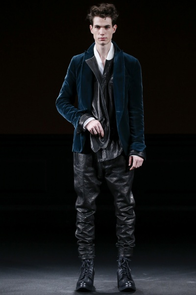 Haider Ackermann2015巴黎秋冬男装周