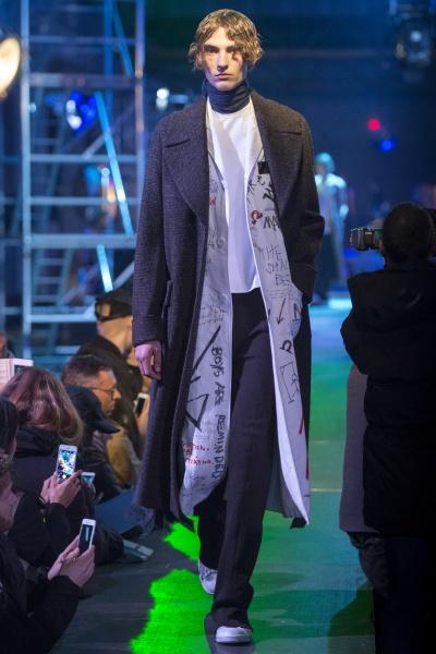 Raf Simons2015秋冬男装周