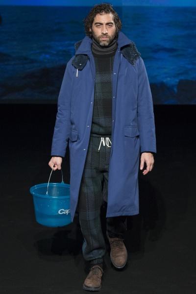 Umit Benan2015巴黎秋冬男装周