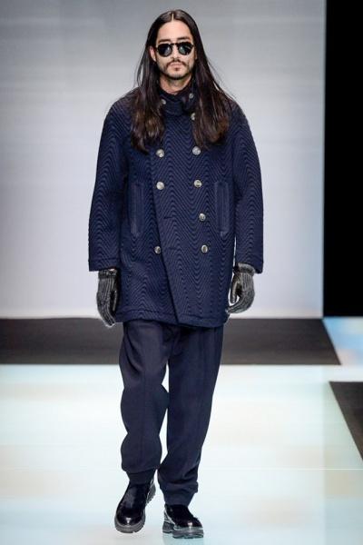 Giorgio Armani2016米兰秋冬男装周