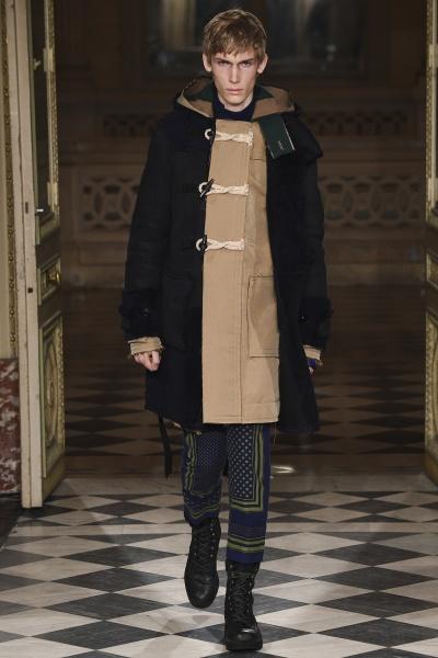 Sacai2016巴黎秋冬男装周