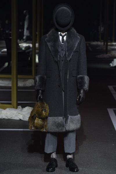 Thom Browne2016巴黎秋冬男装周