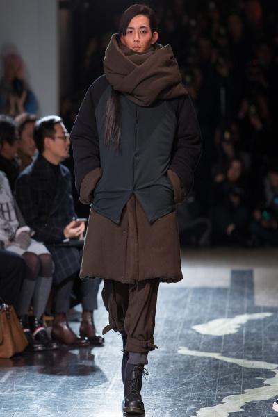 Yohii Yamamoto2016秋冬男装周
