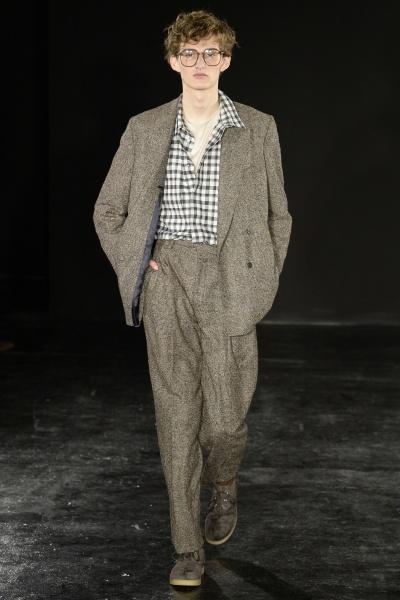 2017年秋冬男装时装发布 - 伦敦<br>E. TAUTZ