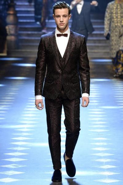 2017年秋冬男装时装发布 - 米兰<br>Dolce & Gabbana