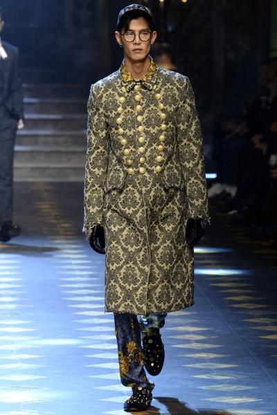 Dolce & Gabbana2017秋冬男装周
