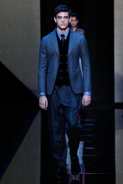 Giorgio Armani2017米兰秋冬男装周