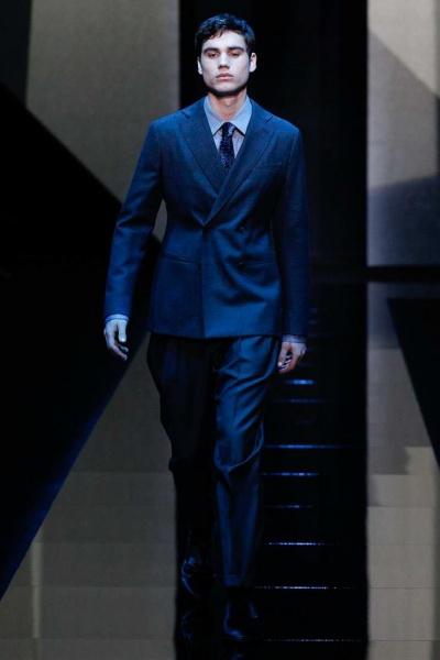 Giorgio Armani2017秋冬男装周