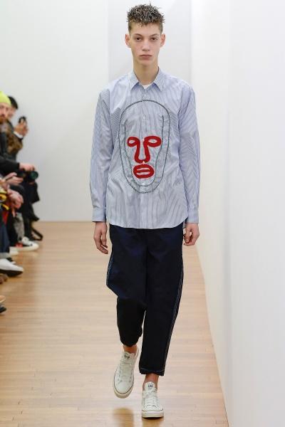 comme des garcons shirt2017秋冬男装周