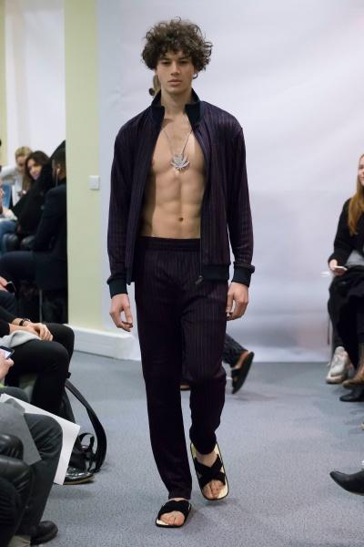 Lucien Pellet Finet2017巴黎秋冬男装周