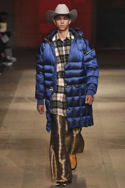 2018年秋冬男装时装发布 - 伦敦<br>Astrid Andersen