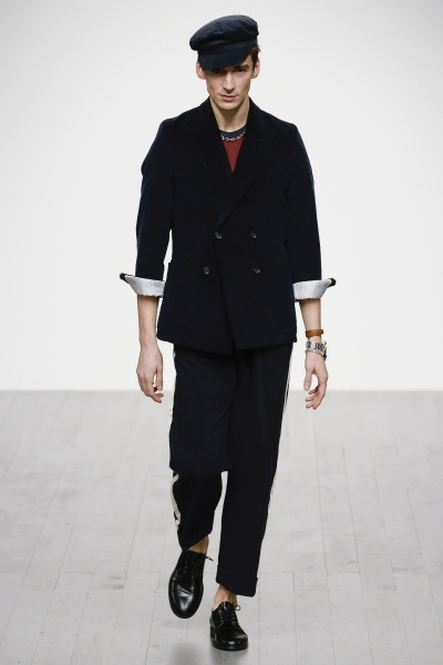 2018年秋冬男装时装发布 - 伦敦<br>Oliver Spencer