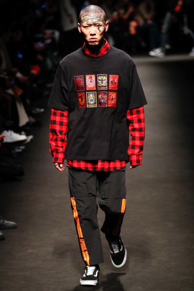 Marcelo Burlon County of Milan2018米兰秋冬男装周