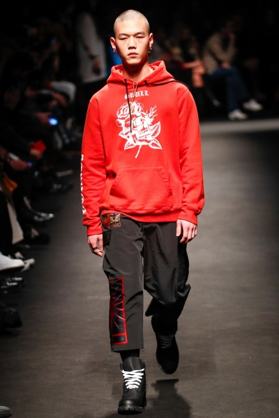 Marcelo Burlon County of Milan2018秋冬男装周
