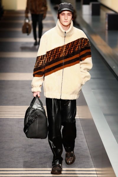 Fendi2018秋冬男装周